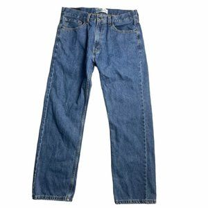 LEVI'S Men's Vintage Medium Wash Regular Jeans 33